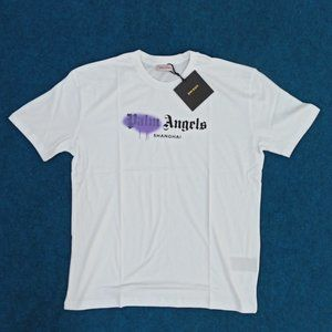 Palm Angels With Shanghai Printed T-Shirt , NWT